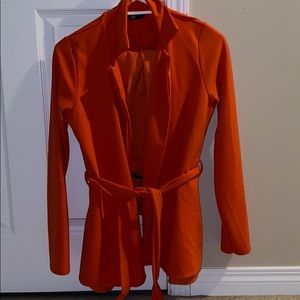 Misguided 2 piece orange set